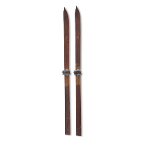 Timberline wooden skis