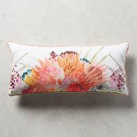 Majorcan garden pillow