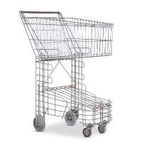 Elsa vintage shopping cart