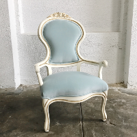 Micaela blue chairs