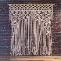 Mueller macrame backdrop