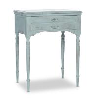 Trumbull blue table