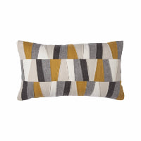 felt patches pillow