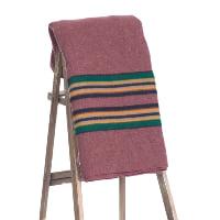 Pendleton blanket (burgundy)