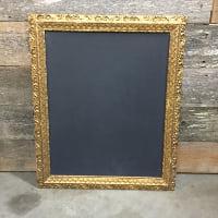 Helena gold chalkboard