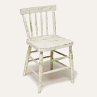 Heidi cream chair