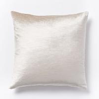 ivory velvet pillow (b)