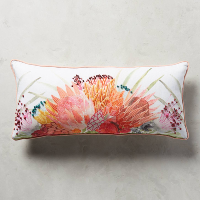Majorcan garden pillow