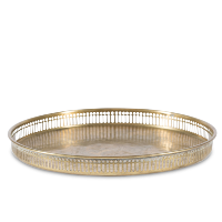Cecil brass serving tray
