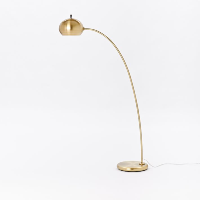 Arc metal floor lamp