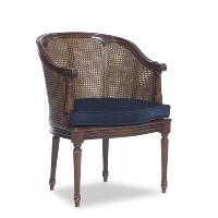 Fullerton navy armchair