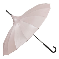 Cecile pink pagoda umbrella