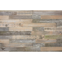 Sawyer rustic wood wall
