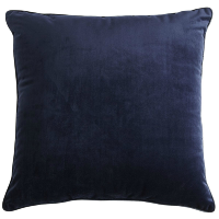 navy velvet pillow (e)