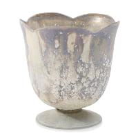 Chelsea white marble vase