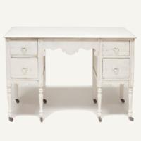 Lucile cream desk
