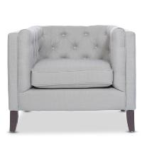 Kendall fog gray chair