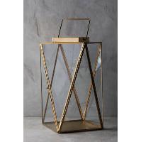 Clarisa gold lantern, large