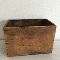 Paxton wooden crate