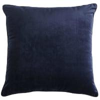 navy velvet pillow (d)