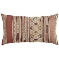 Aztec lumbar pillow