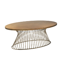 Padilla bronze coffee table