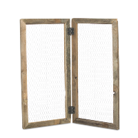 hinged chicken wire screen