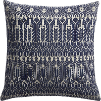 Izel blue pillow