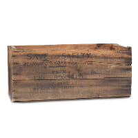 Rexall wood crate