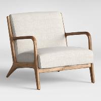 Pearce beige armchair