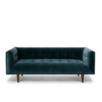 Bardot blue sofa