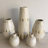 mid-century ceramic vases