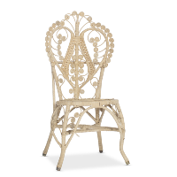 Landis wicker chair