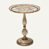 Felicity gold side table