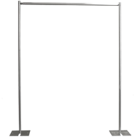 metal backdrop stand