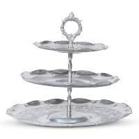 Quincy 3-tiered tray