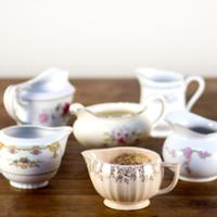 vintage china creamers