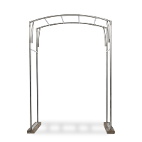 Landcaster metal arch