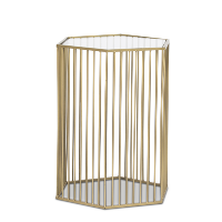 Collins gold side table