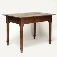 Alberta wooden table