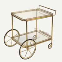Hazel brass cart