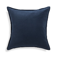 navy velvet pillow (b)