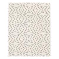 Dhurrie ivory 8x10' rug