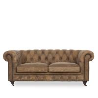 Winthorp leather studio sofa