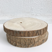 large wood coins