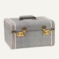 Flint tweed train case