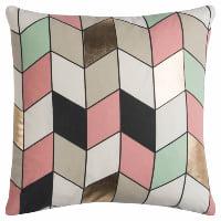 multi geometric pillow