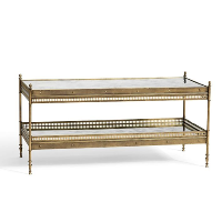 Colette gold coffee table
