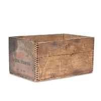 Stumptown wood crate