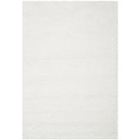 Boyce white 5x8' shag rug
